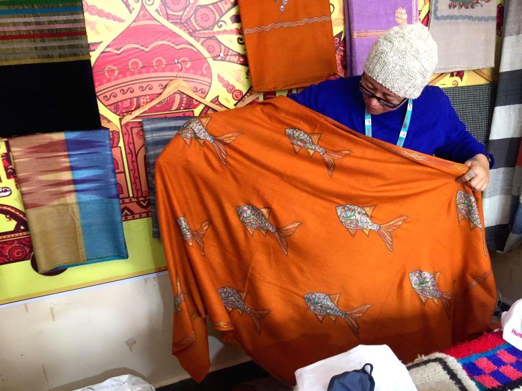 Yogi's visit a boon for this Ladakhi Pashmina trader
