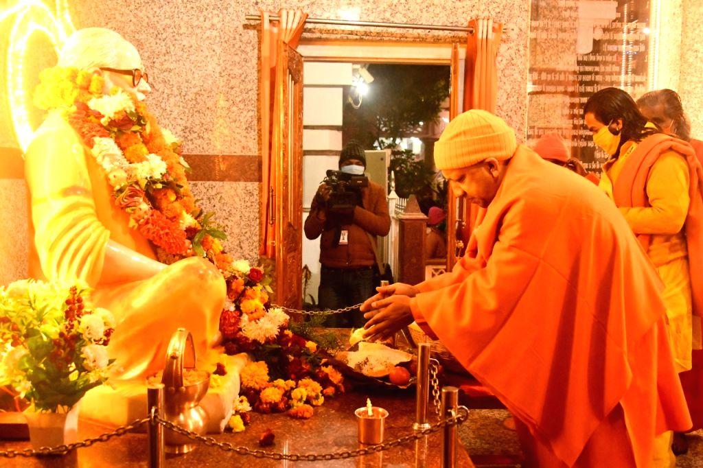 Yogi slang Baba Gorakhnath.