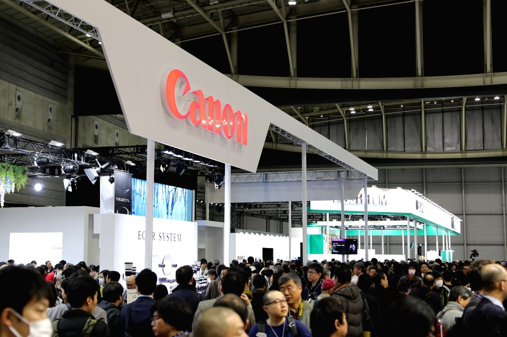 YOKOHAMA, March 1, 2019 - Photo taken on March 1, 2019 shows people visiting the CP+ Camera & Photo Imaging Show 2019 in Yokohama, Japan. The show is held here from Feb. 28 to March 3.