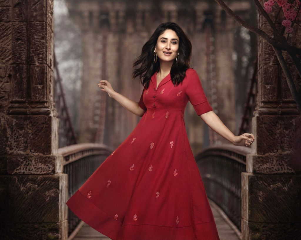 Youth-oriented fashion retailer, Universal Sportsbiz Pvt. Ltd. (USPL), has announced Bollywood fashionista Kareena Kapoor Khan as the new brand ambassador for their women's ethnic wear brand IMARA. - Kareena Kapoor Khan