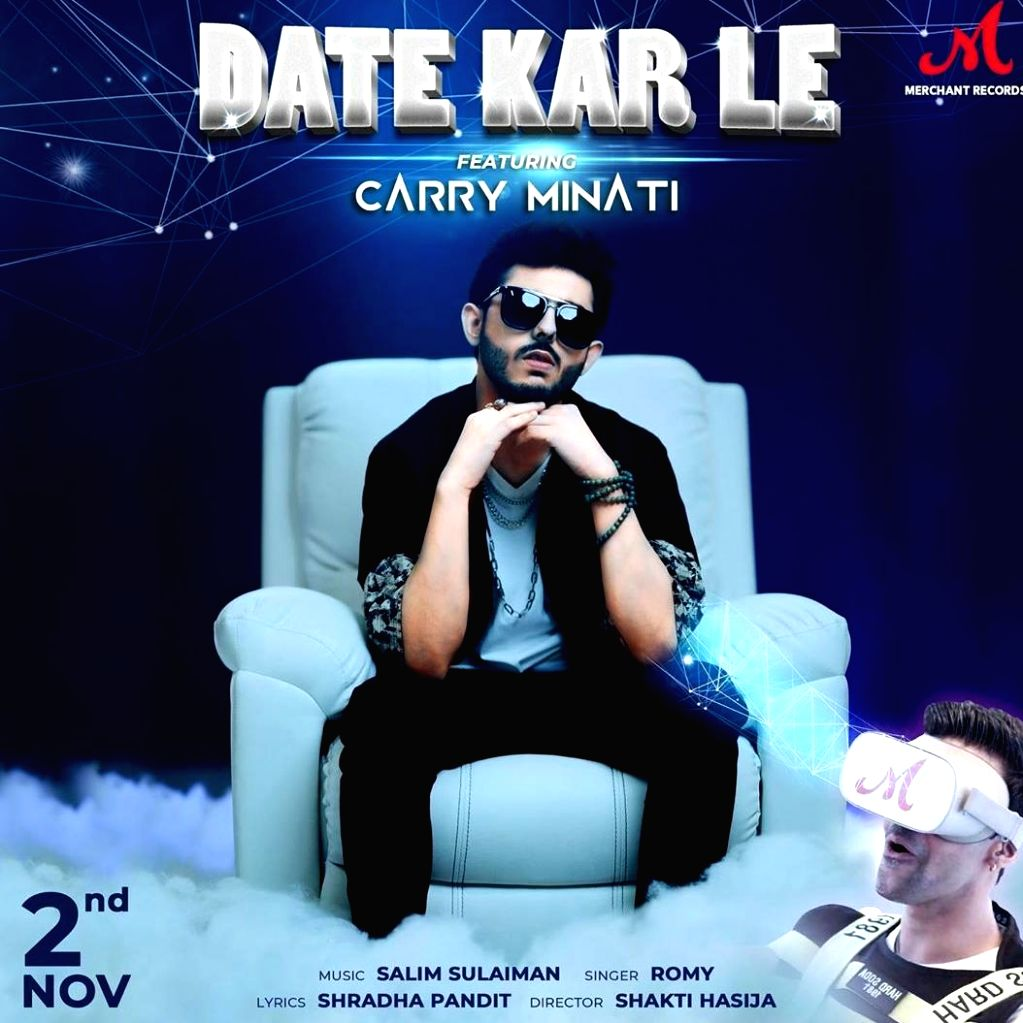 YouTube star Carry Minati in Salim-Sulaiman song Date kar le