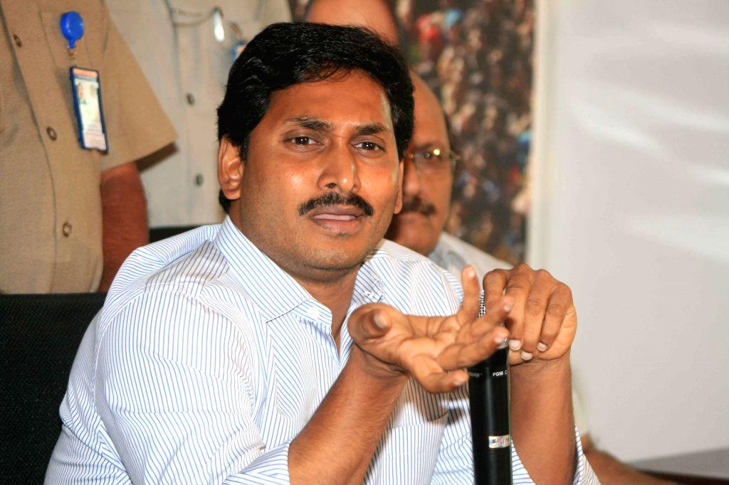 YS Jaganmohan Reddy. (File Photo: IANS) - Jaganmohan Reddy