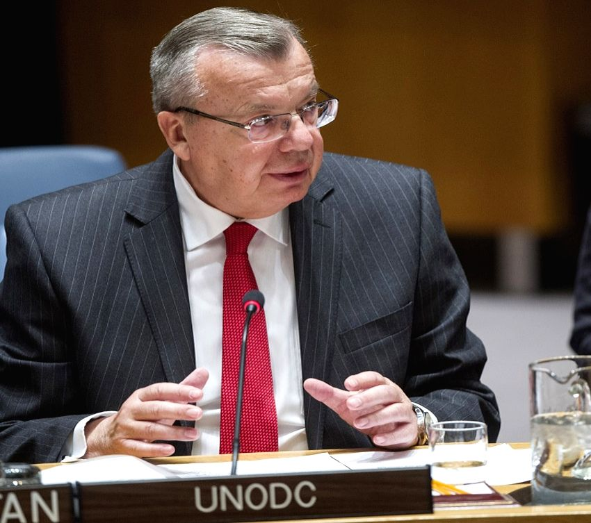 Yury Fedotov of the Executive Director of the United Nations Office on Drugs and Crime (UNODC). (Photo: UN/IANS)