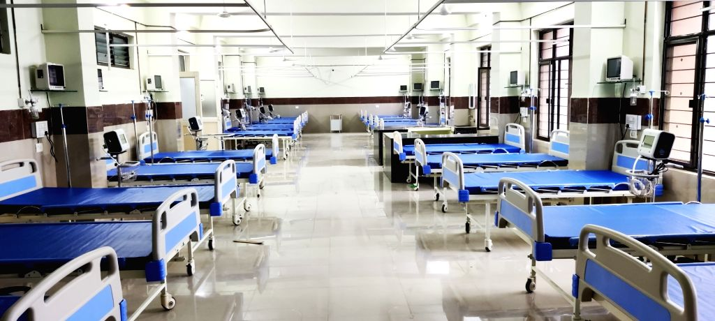 Yuvraj's foundation sets up 120 beds in Telangana hospital.