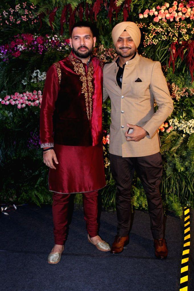 Yuvraj Singh and Harbhajan Singh. (Photo: IANS) - Yuvraj Singh and Harbhajan Singh