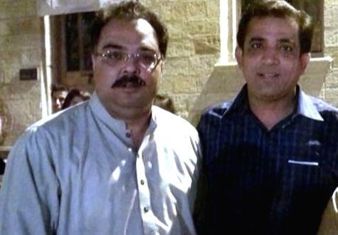 Zafar Masud (L) and Adil Zafar.