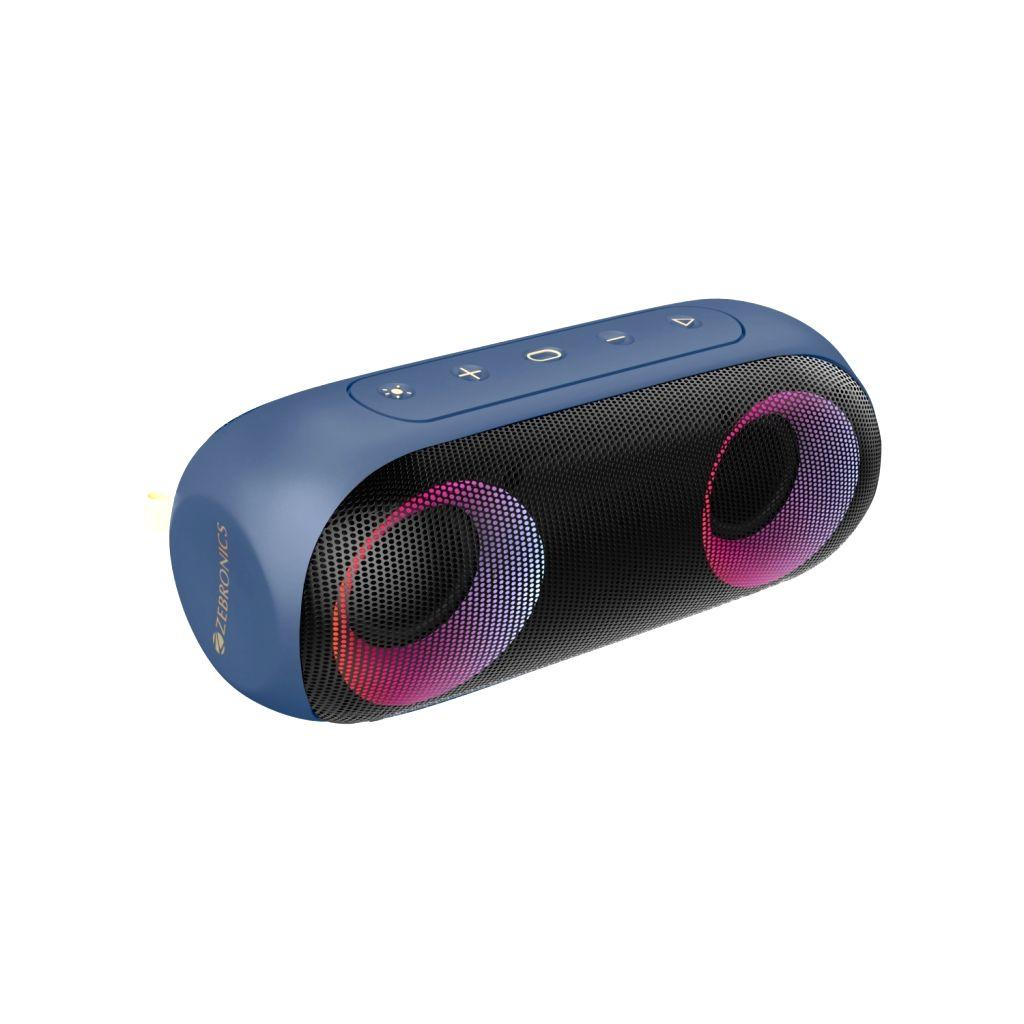 Zebronics launches powerful speaker Zeb-Music Bomb X with IPX7 rating - Zeb-Music Bomb X