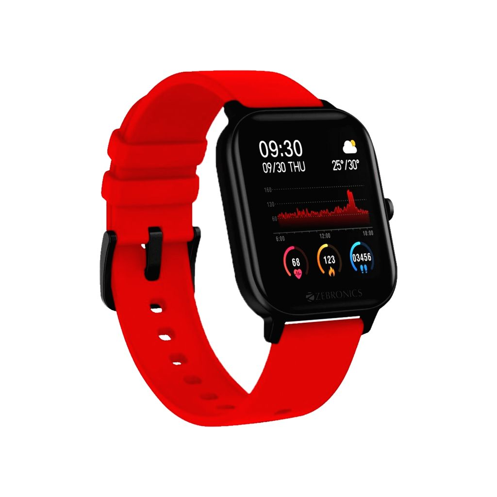 Zebronics launches ZEB-FIT920CH smart fitness band.