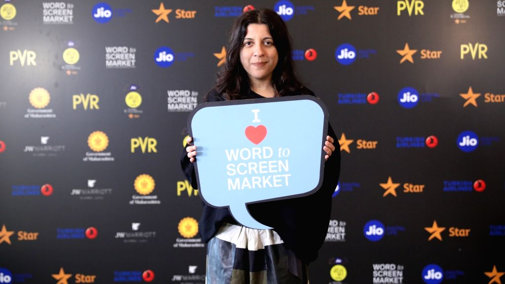 Zoya Akhtar, Filmmaker and Board Member, MAMI at Jio MAMI 21st Mumbai Film Festival with Star Word to Screen Market 2019.