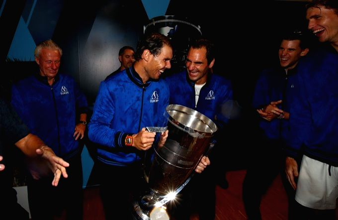 Zverev helps Team Europe defend Laver Cup title.