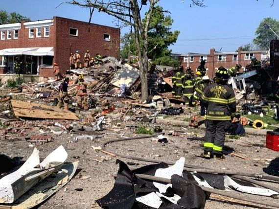 1 dead, 6 injured, 3 homes destroyed in Baltimore gas explosion (Ld)