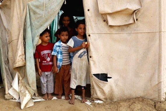 11,350 kids in besieged Yemeni province unvaccinated for 3 yrs