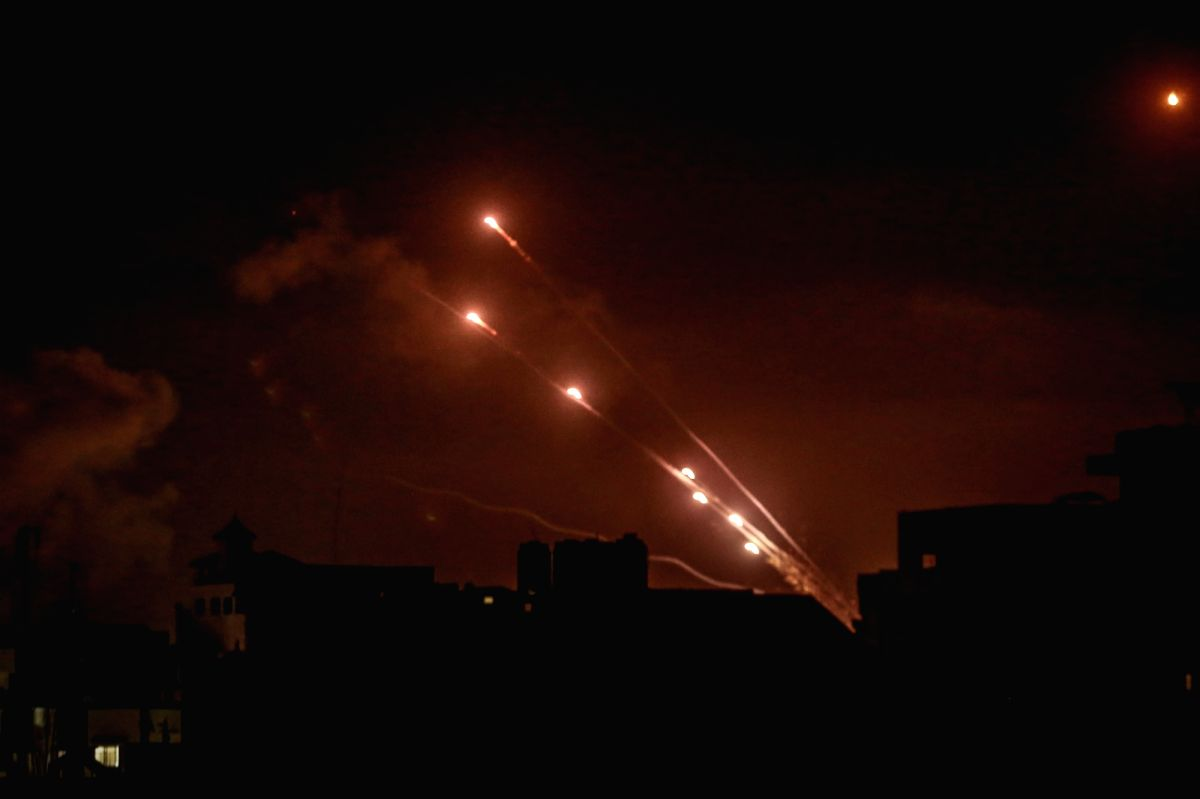 1,600 rockets fired from Gaza, 7 Israeli deaths: Military