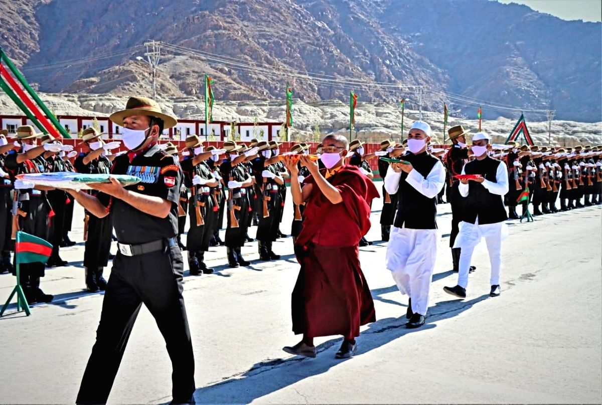 131 youngsters join Ladakh Scouts regiment.