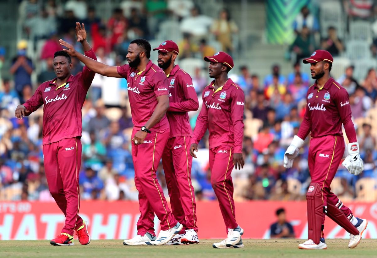 1st T20I: Pollard's 6 sixes in an over takes Windies to win