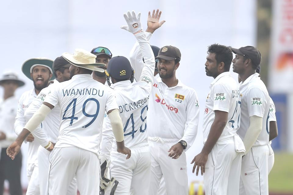 1st Test: England 36 runs away from win after frantic Day 4. (Credit : sri lanka cricket)