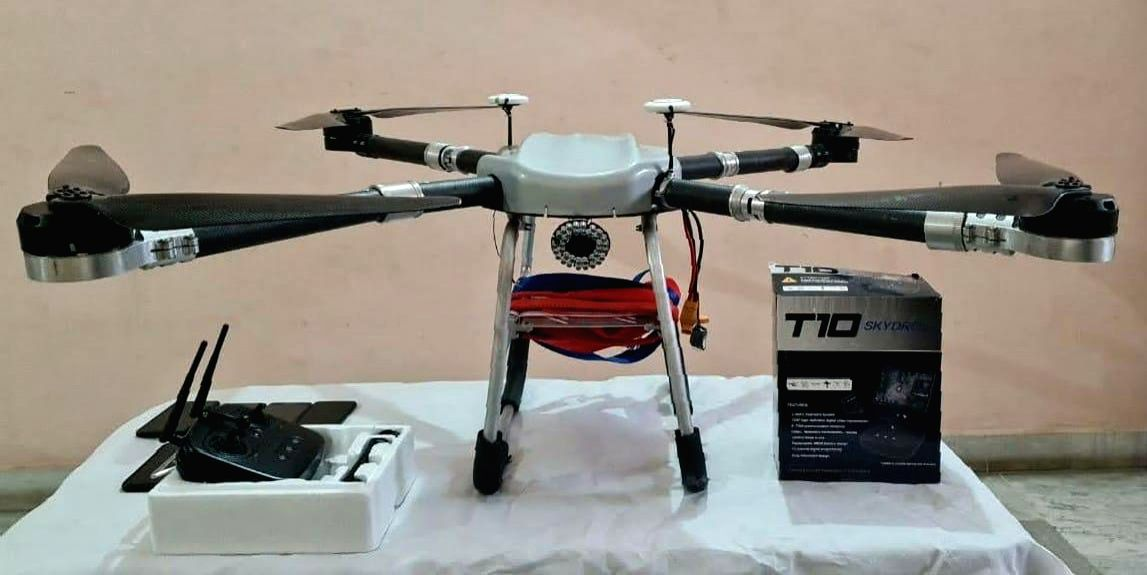 2 held in Punjab for using drones to smuggle arms, drugs