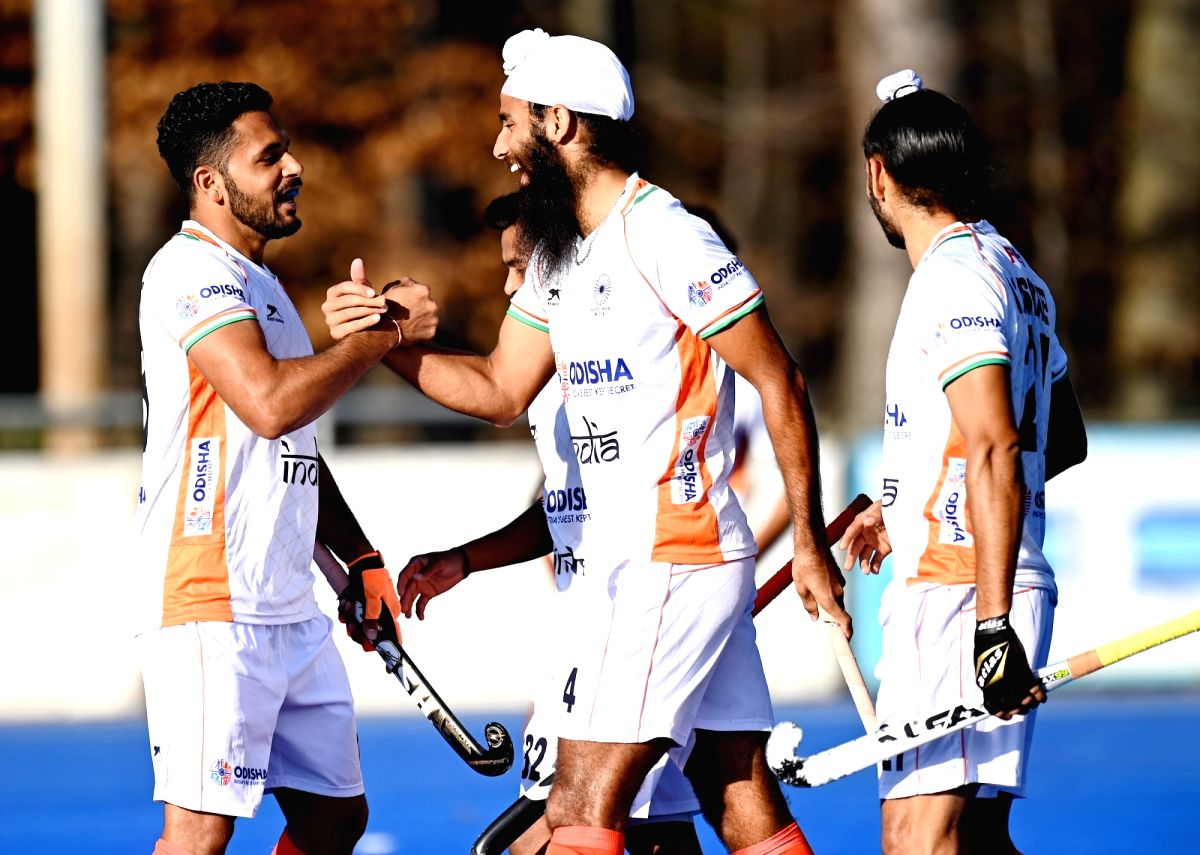 2nd match: Resilient Indian men draw 1-1 with Germany