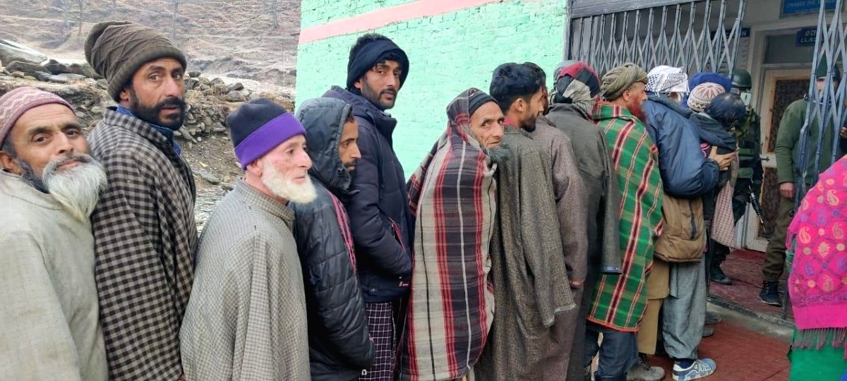 2nd phase of DDC polling in J&K sees 49% voter turnout