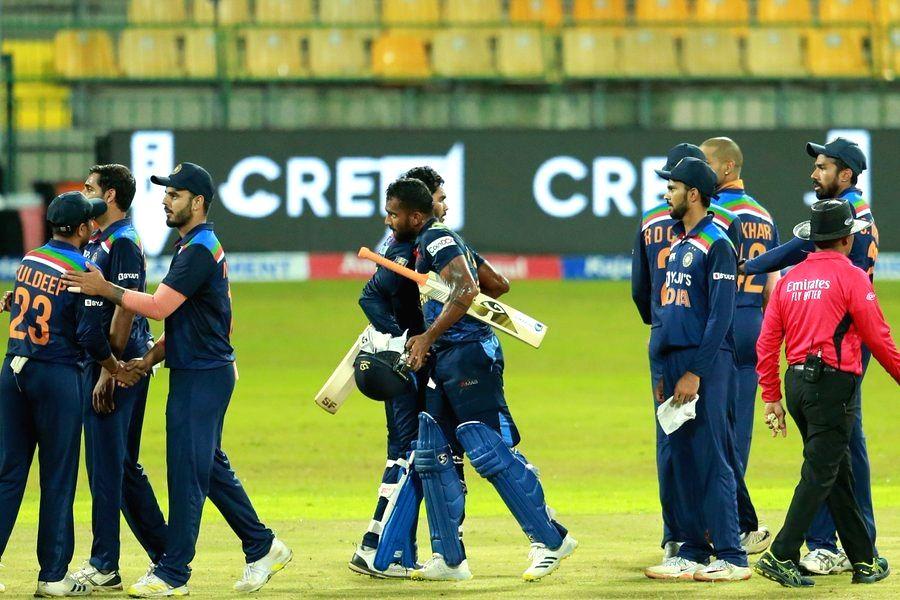 2nd T20I: Depleted India go down to Sri Lanka by 4 wickets.(photo:Sri Lanka Twitter)