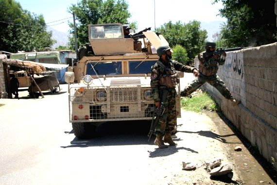 4 dead as Afghan varsity bus hits roadside bomb