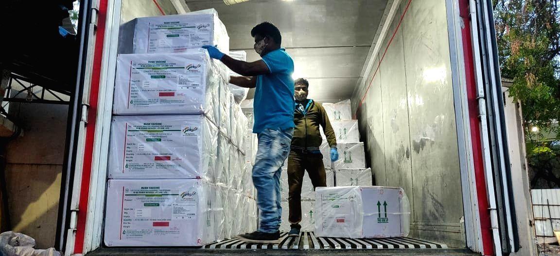 First batch of corona vaccine doses reaches Kerala
