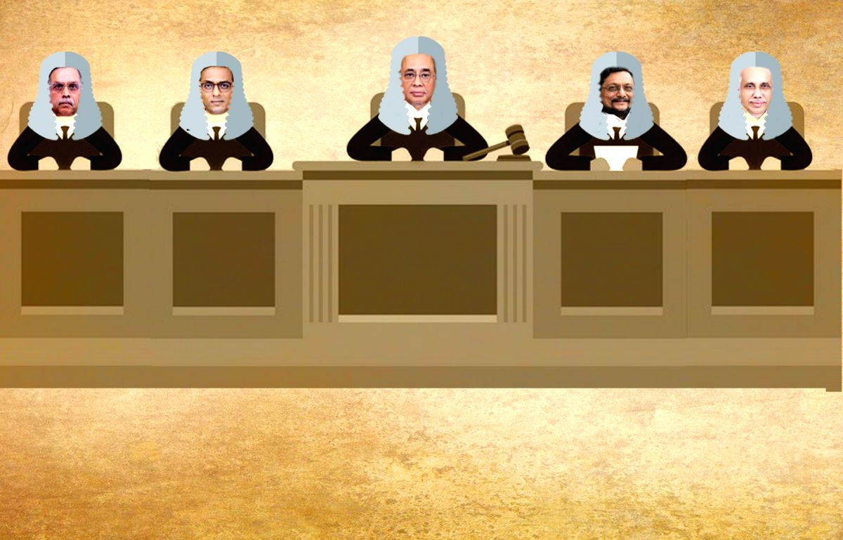 5 judges who will deliver the Ayodhya verdict.