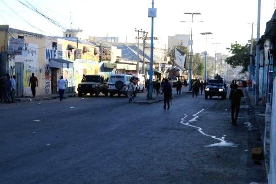 5 killed in Mogadishu suicide bombing outside hotel
