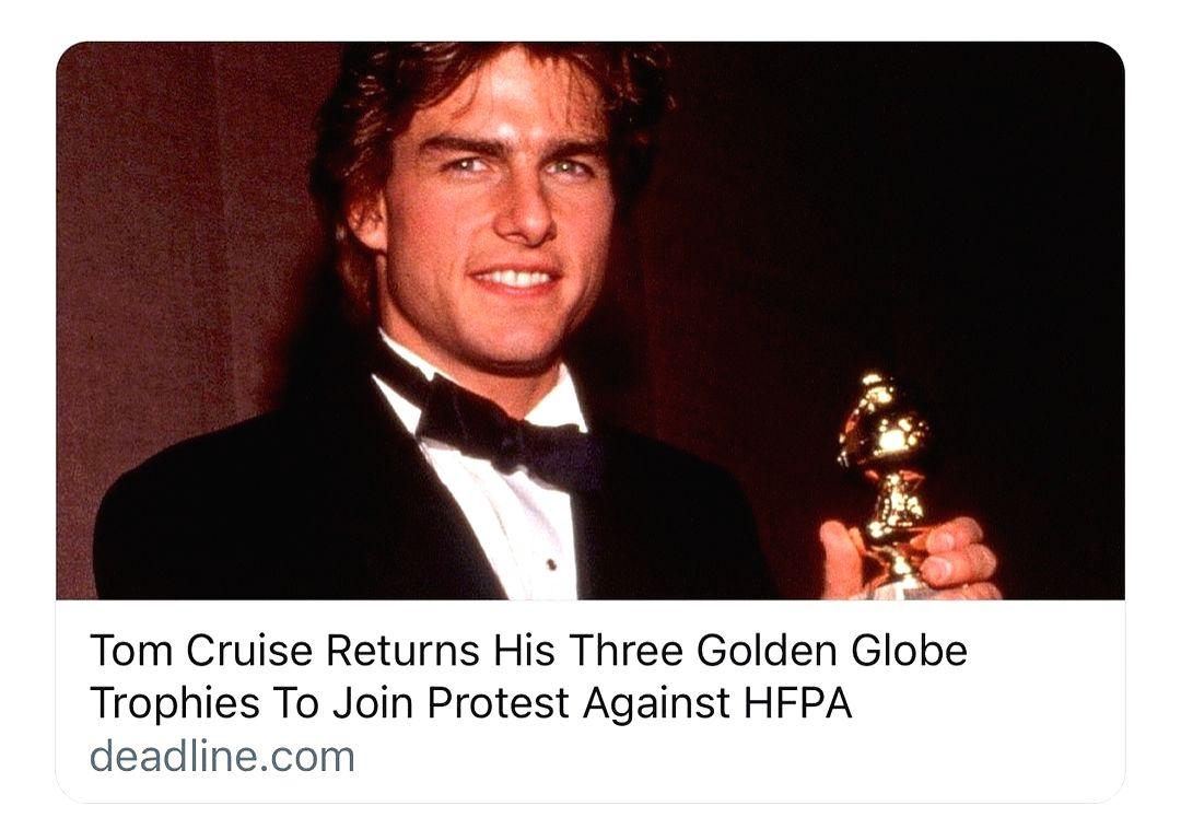 50 Cent hails Tom Cruise for backing protest against Golden Globes.(photo:Instagram)
