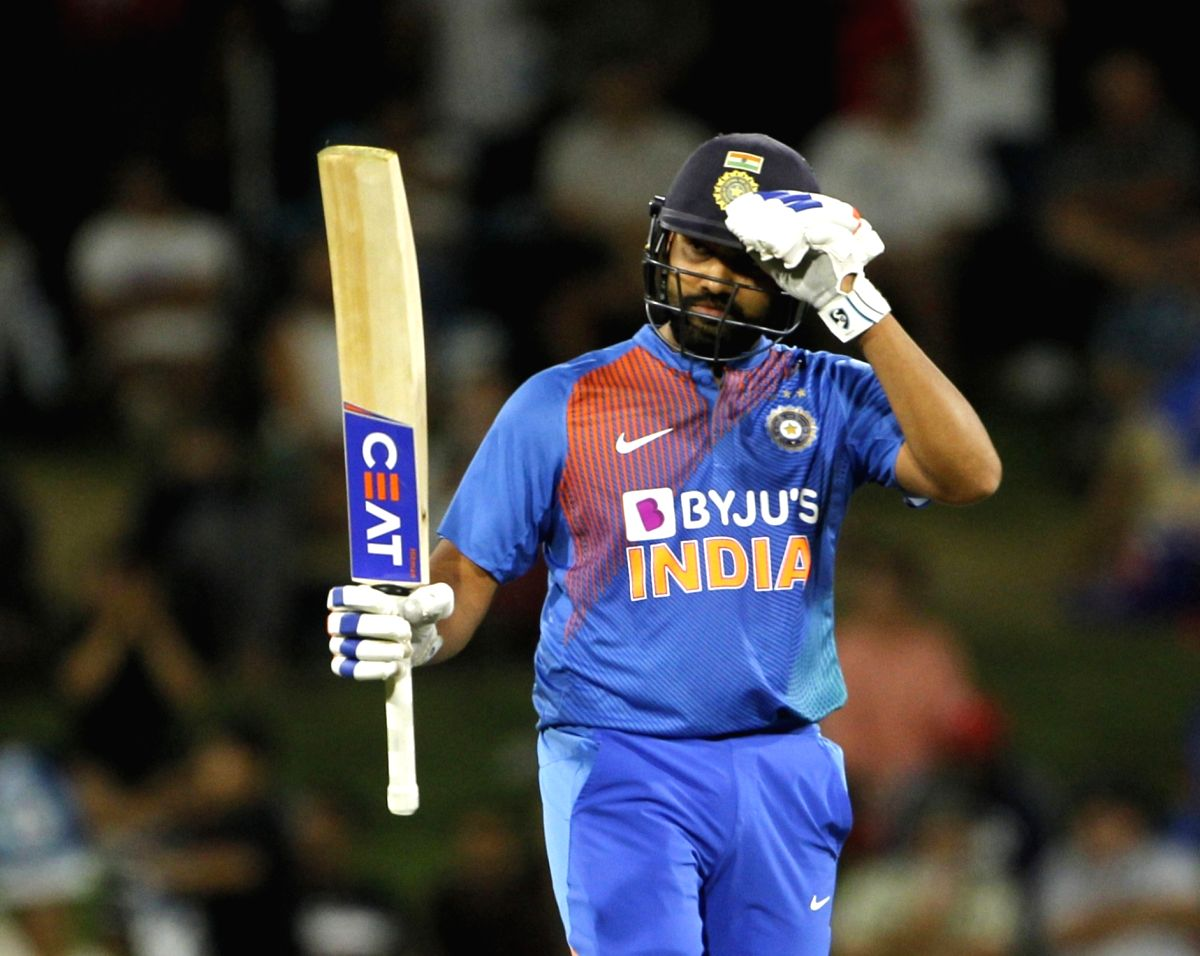 5th T20I: India ride Rohit fifty to post 163/3 against NZ