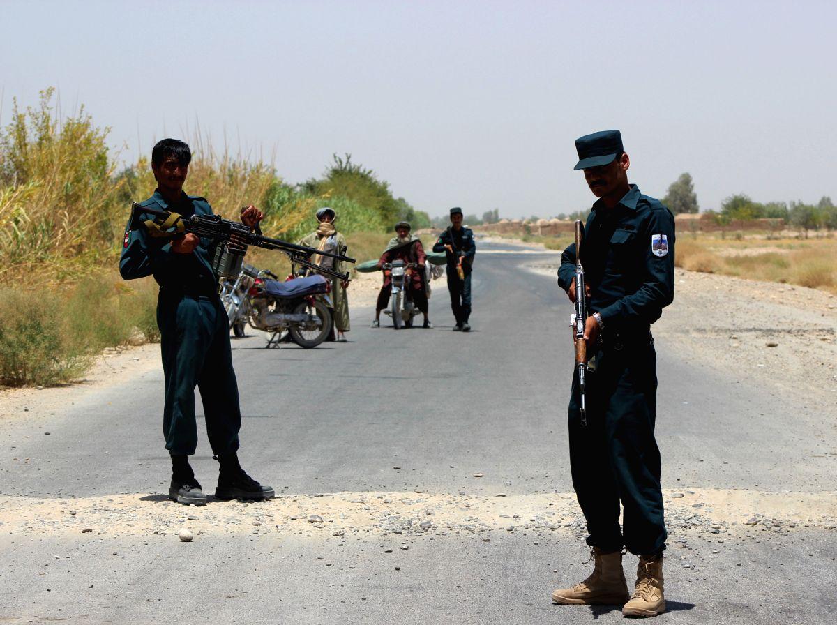 8 Afghan policemen killed in insider attack