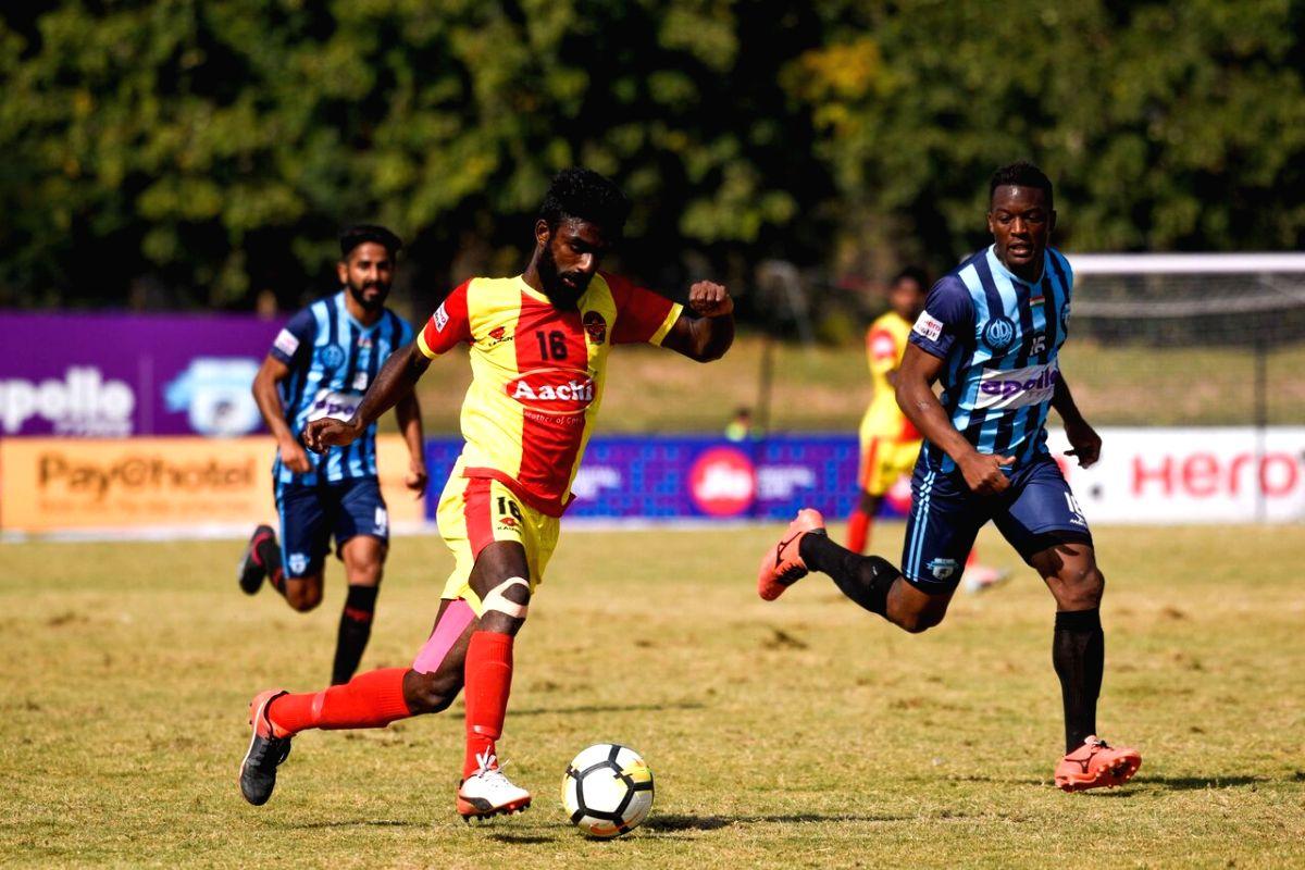 A Dipanda Dicka brace helped Punjab FC register a 3-1 victory over Gokulam Kerala FC at the Guru Nanak Stadium here on Monday.