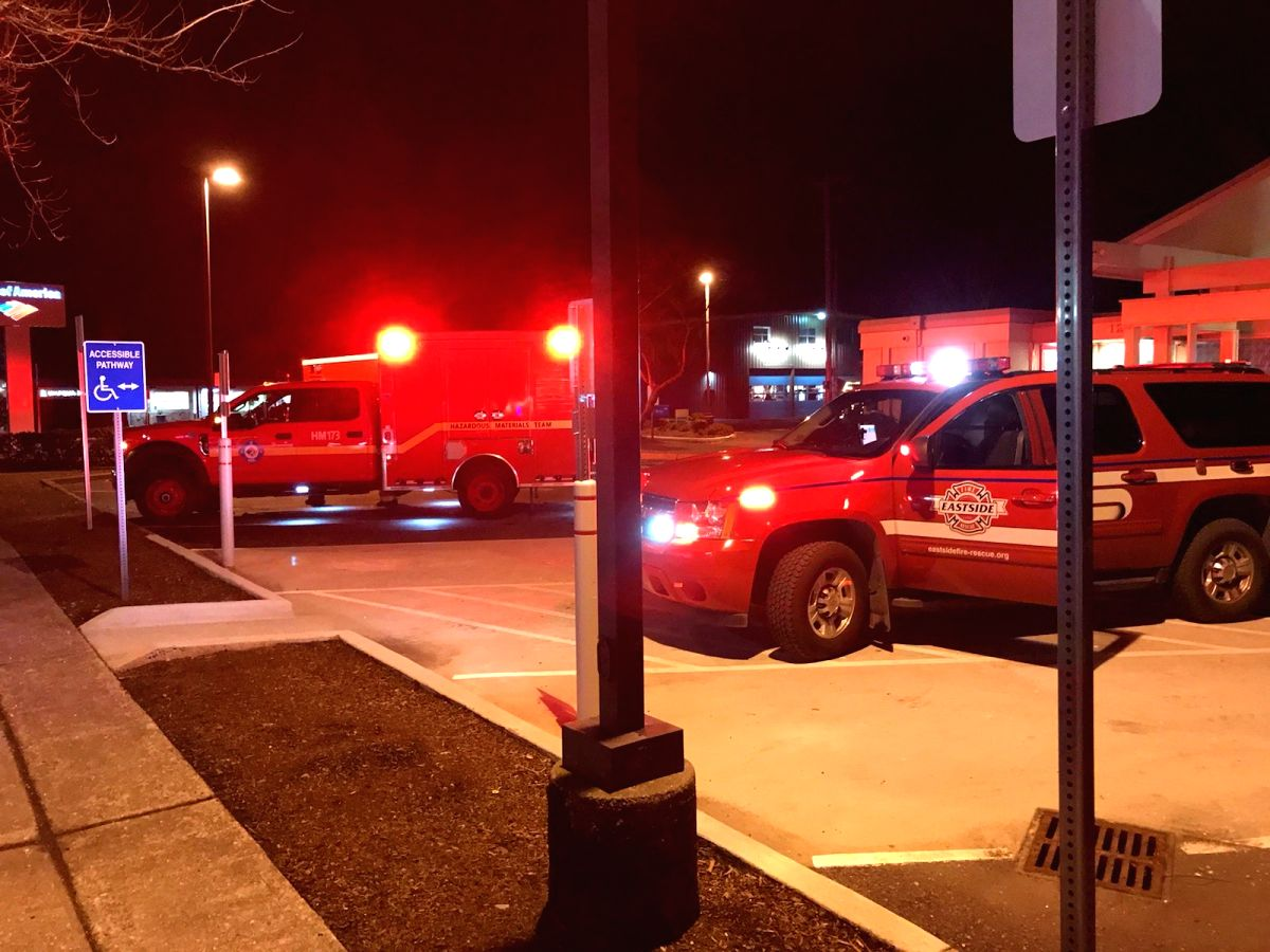 """A movie theatre in the state of Washington in the USA was evacuated after a box marked """"highly contagious human substance"""" was found at the site, a media report said.It turned out to be urine, according to the local fire department, time.com reported"""