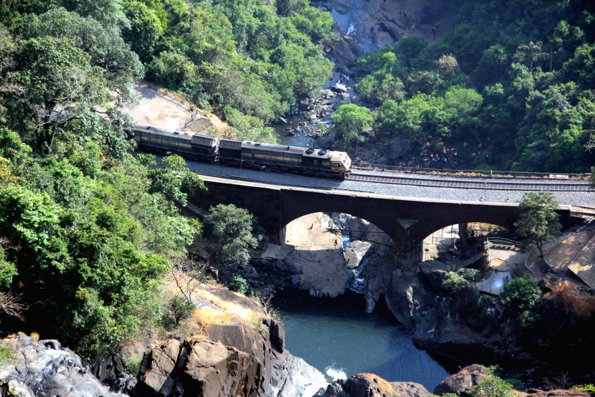 Dudhsagar Waterfall: Goa, India