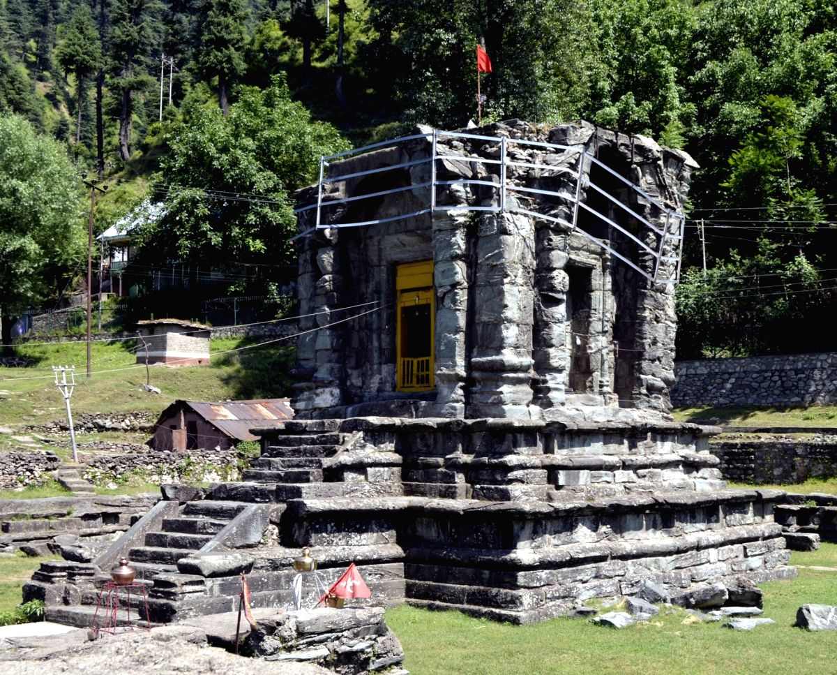 The Pandora Temple in Mohara of Baramulla district, Jammu and Kashmir.