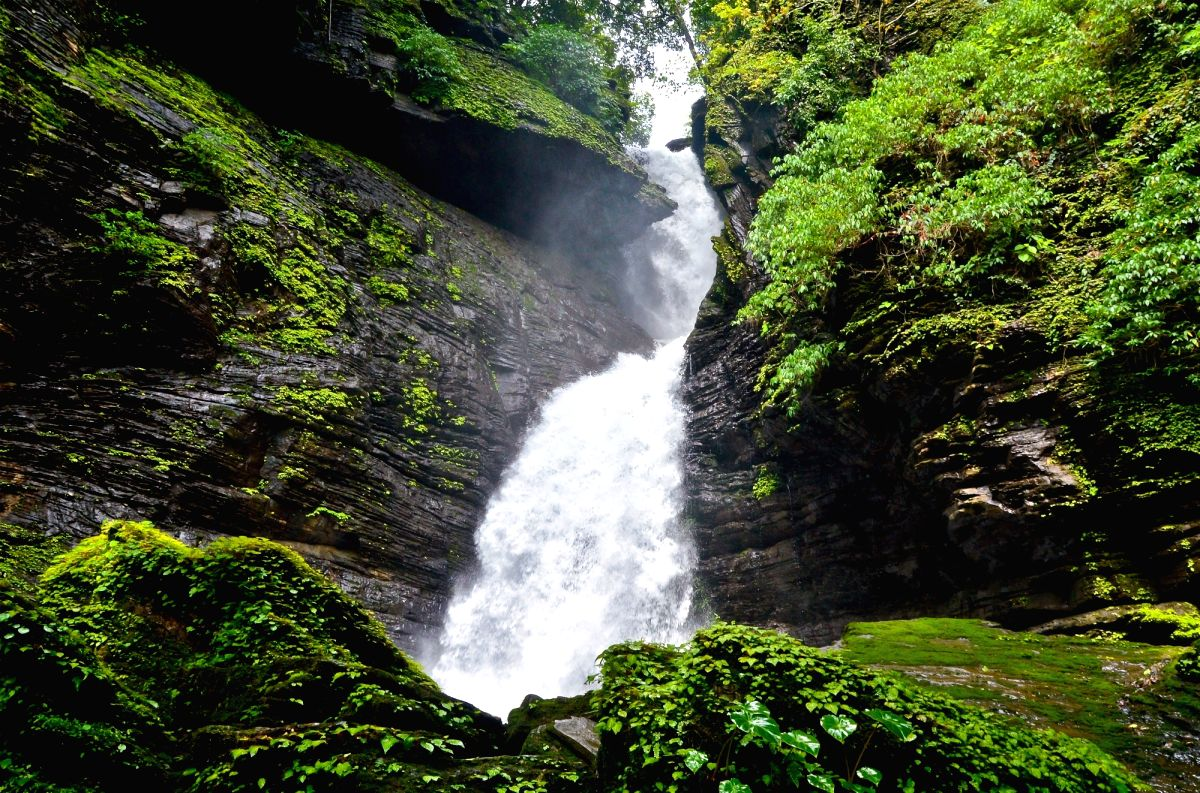 Netravali waterfall, Goa, India