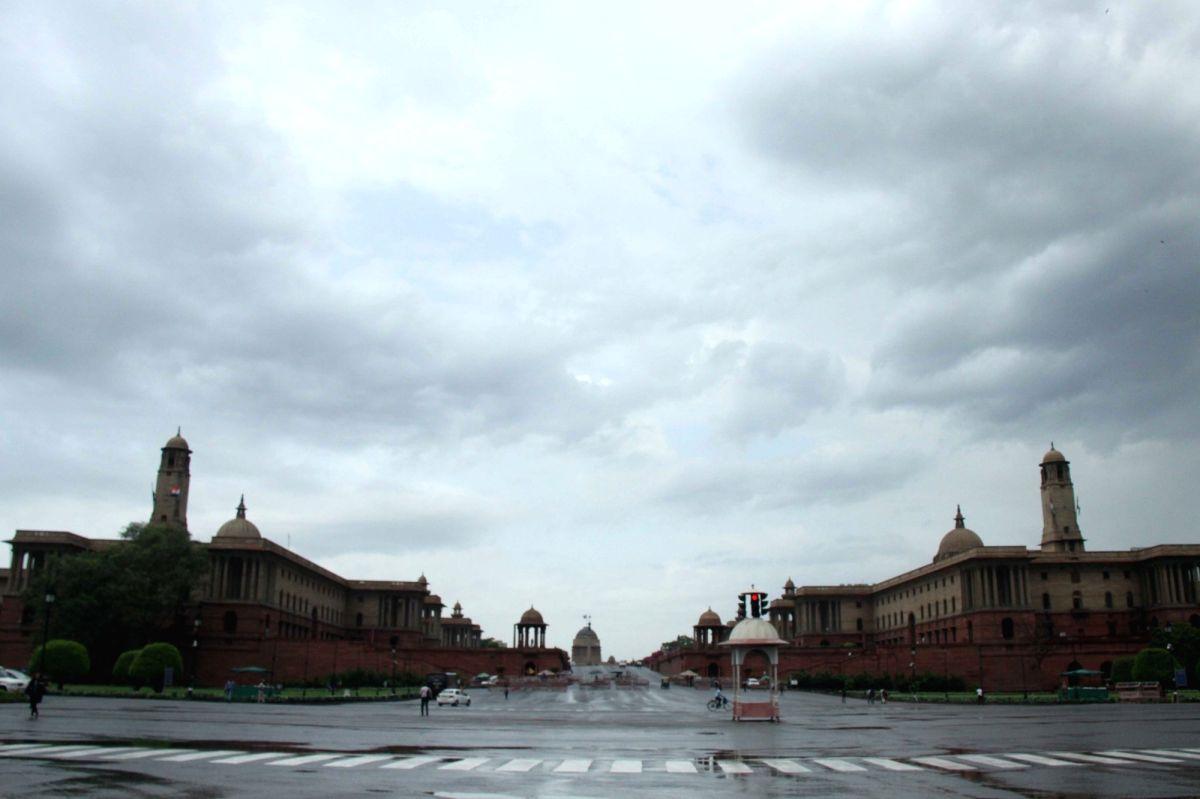 A view of North Block and South Block of the Central Secretariat in New Delhi. (File Photo: Bidesh Manna/IANS)