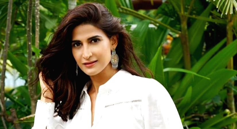 Aahana Kumra recounts early theatre days.