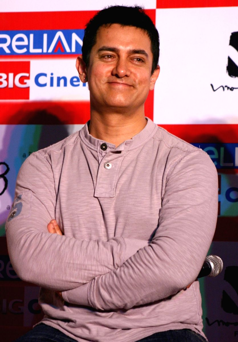 Aamir Khan works hard for his movies