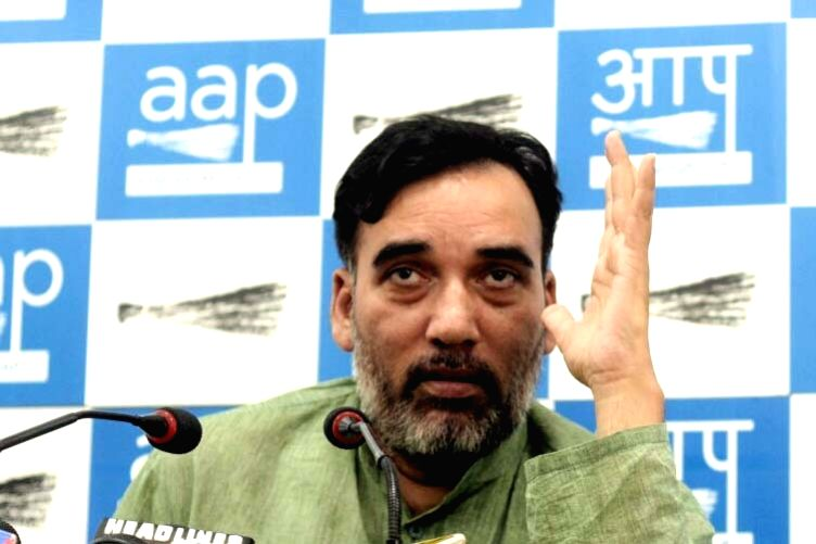 AAP leader Gopal Rai. (File Photo: IANS)