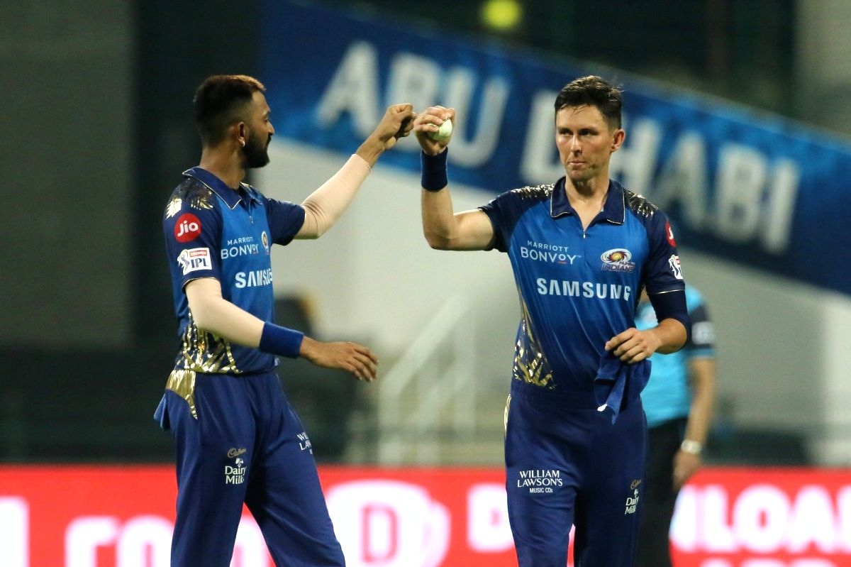 Abu Dhabi, Oct 16 (IANS) Mumbai Indians (MI) pace bowler Trent Boult on Friday captured his 50th wicket in the Indian Premier League when he removed Rahul Tripathi of Kolkata Knight Riders (KKR) here on Friday.