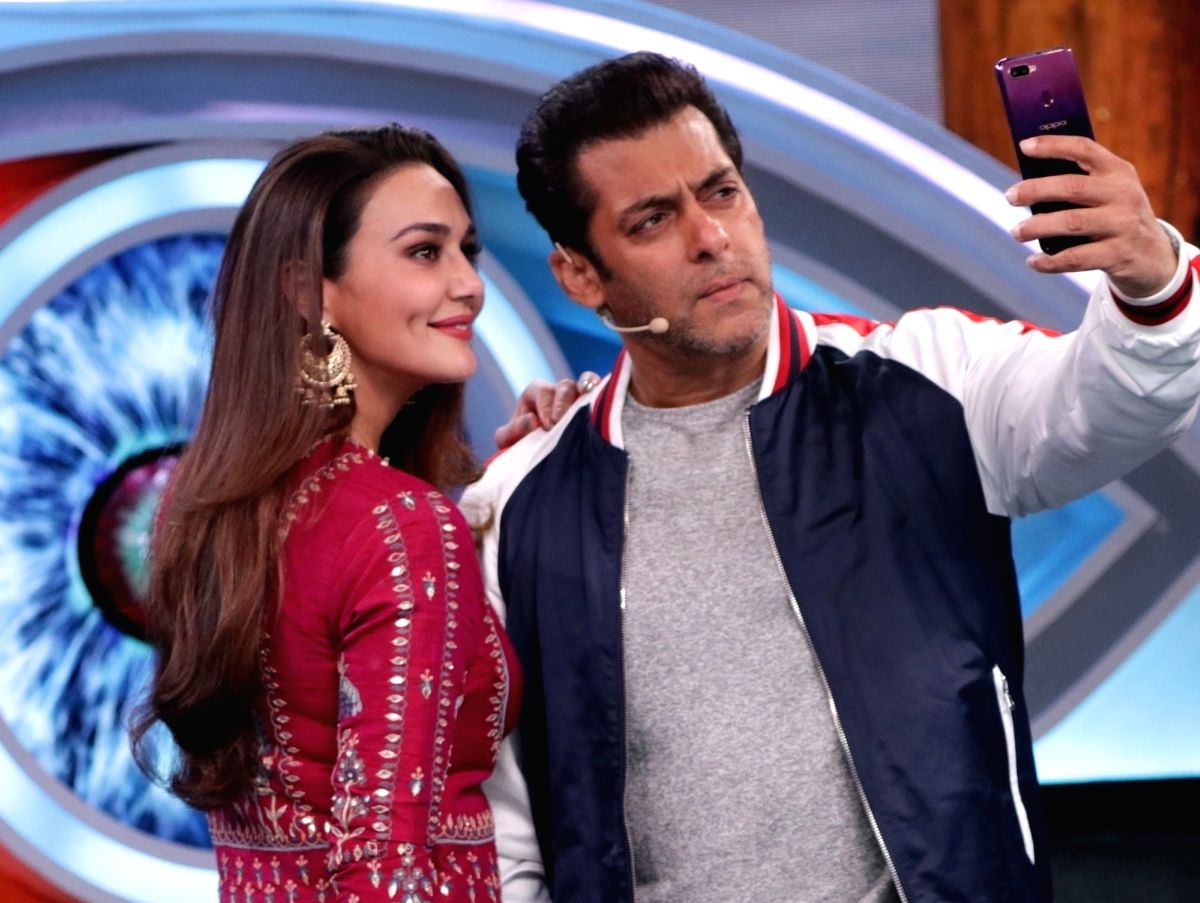 Salman Khan with Preity Zinta (File Photo)