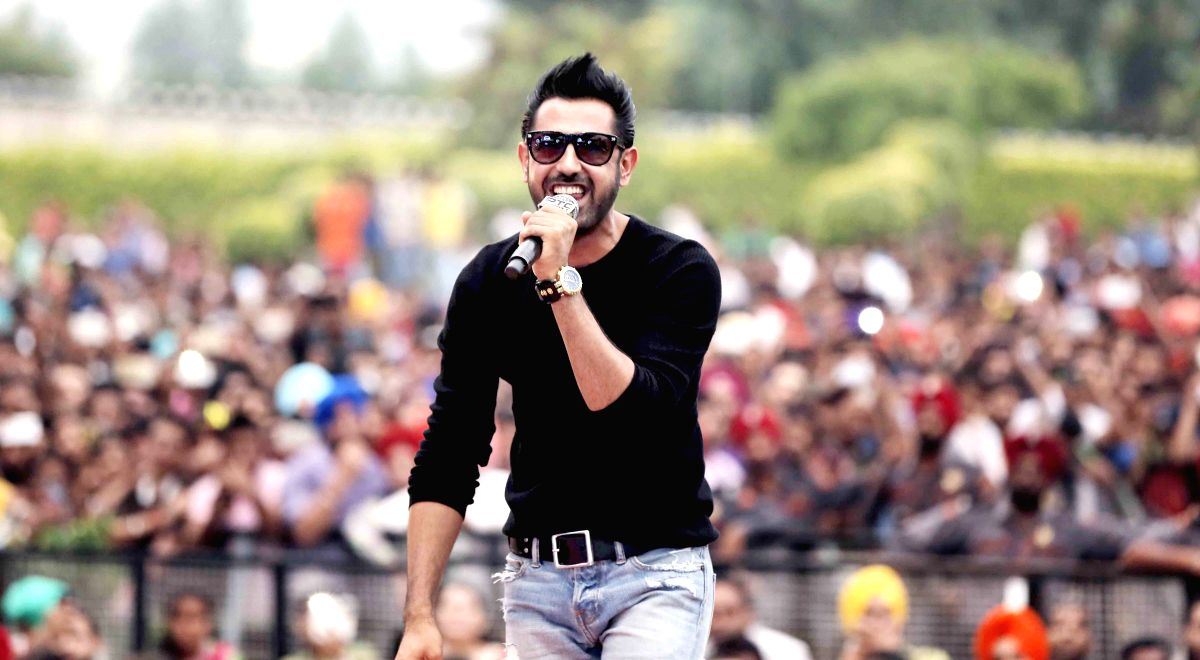 Actor and singer Gippy Grewal