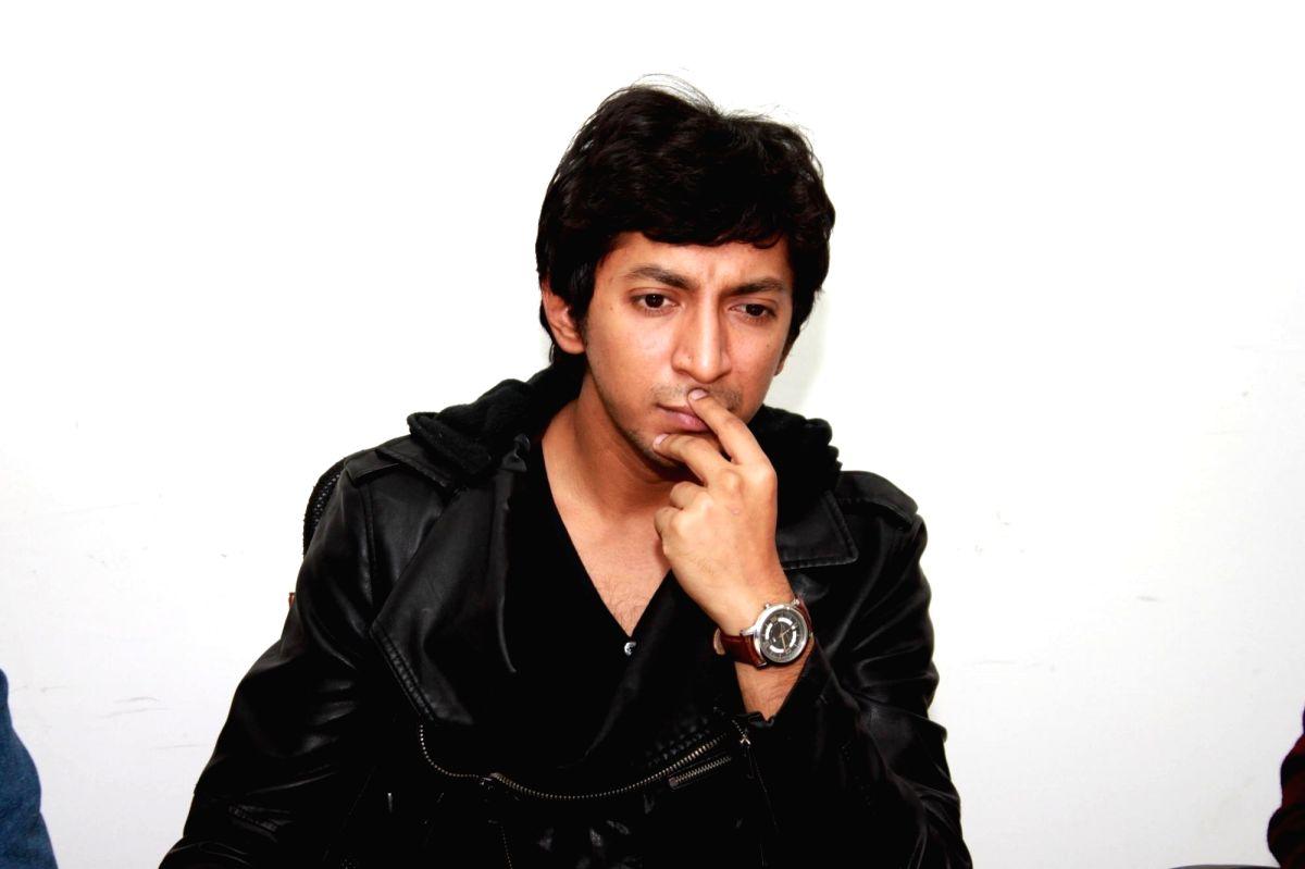 Actor Anshuman Jha. (Photo: Amlan Paliwal/IANS)
