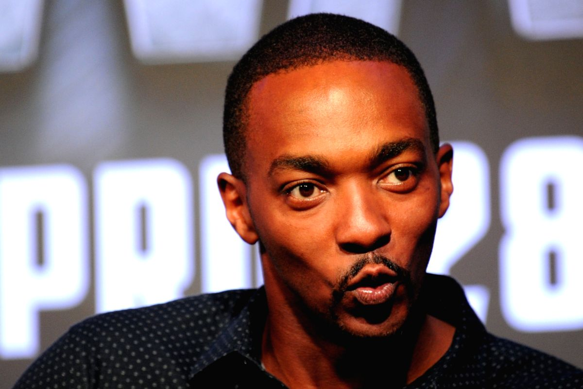 Actor Anthony Mackie. (File Photo: (Xinhua/Then Chih Wey/IANS)