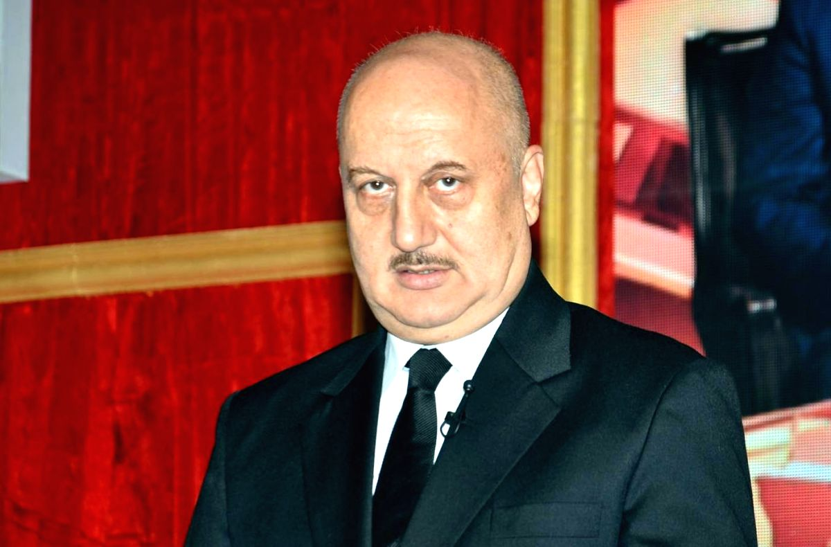 Actor Anupam Kher. (File Photo: IANS)