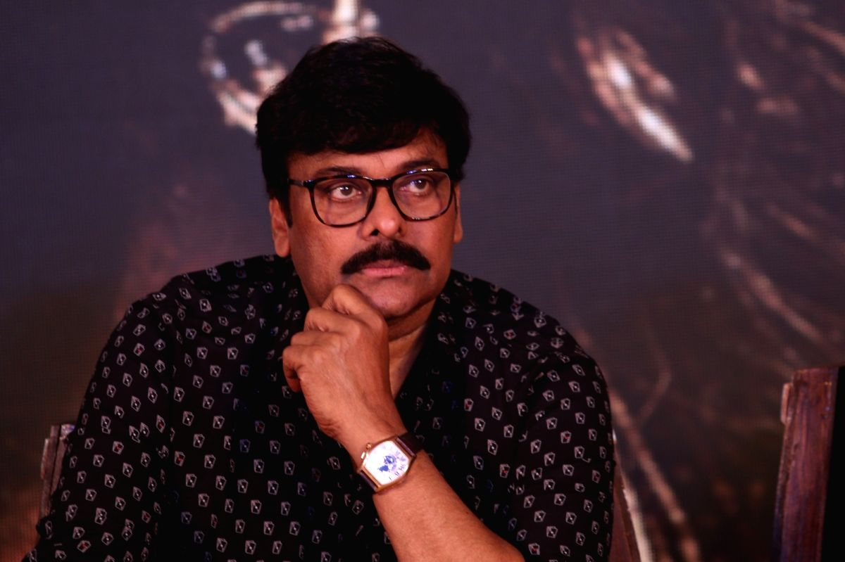 Actor Chiranjeevi.