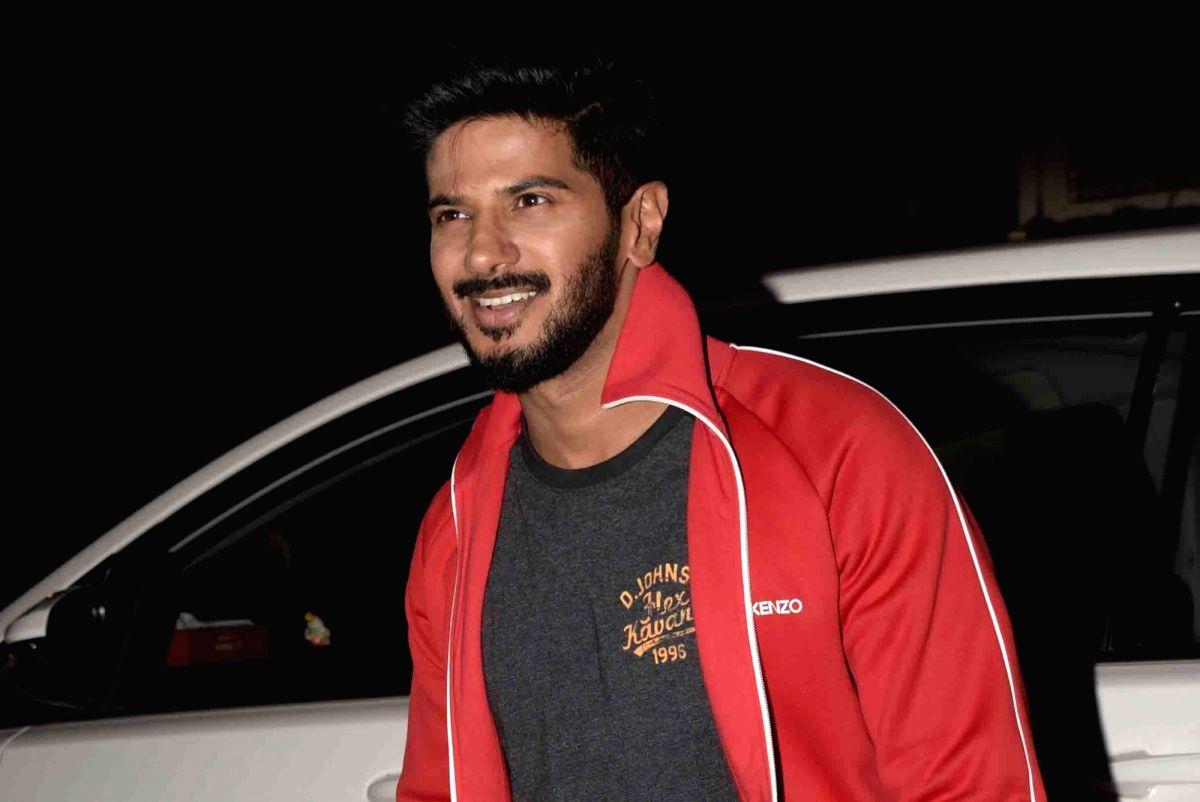 Actor Dulquer Salmaan