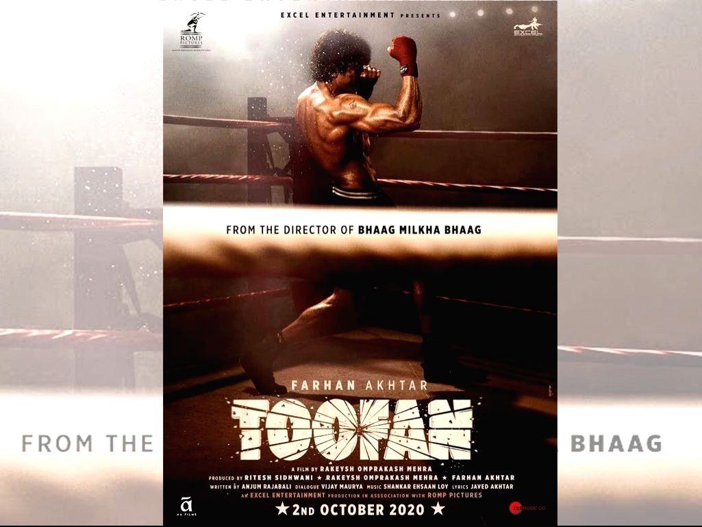 Toofan First Look: Farhan Akhtar Packs A Punch; Says Toofan Uthega