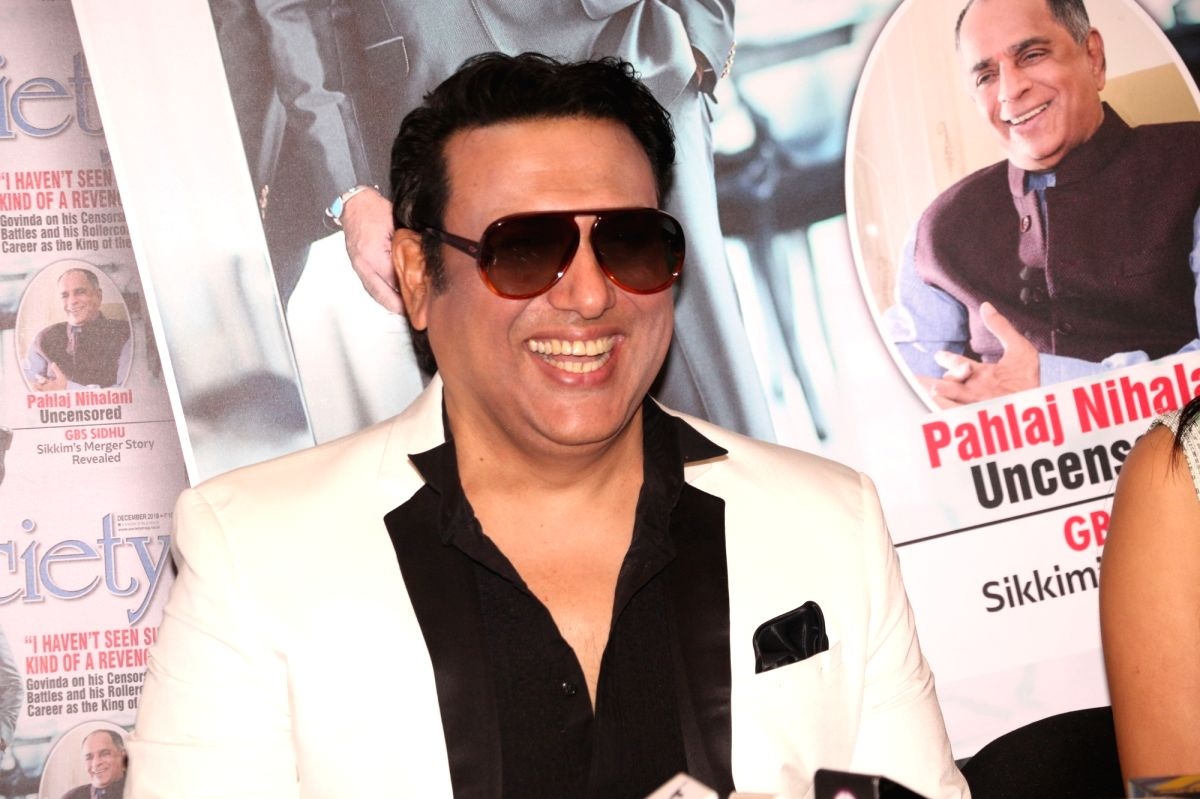 Actor Govinda.